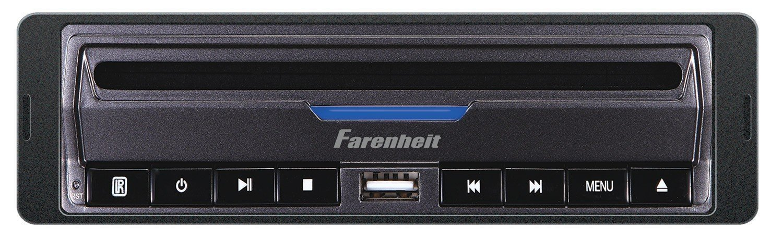 Farenheit DVD-39 In-Dash DVD / MP3 Player with USB and SD Card Slots 32GB [並行輸入品] B076CPQXRV