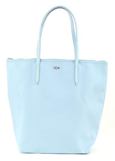 b4acd1a2e5304 Lacoste L.12.12 Concept Vertical Tote Bag Dream Blue  Amazon.fr ...