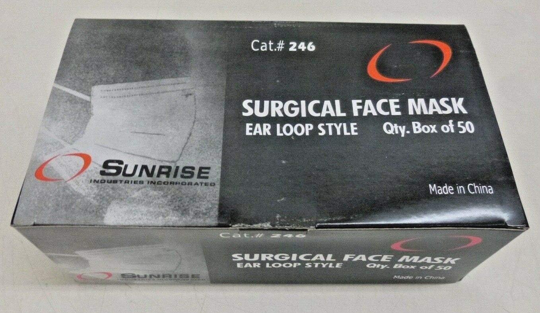 sunrise surgical face mask