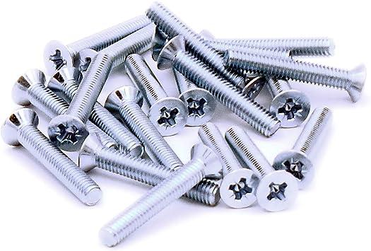 M4 (4 mm x 30 mm) tornillo de cabeza avellanada tornillo tornillos ...