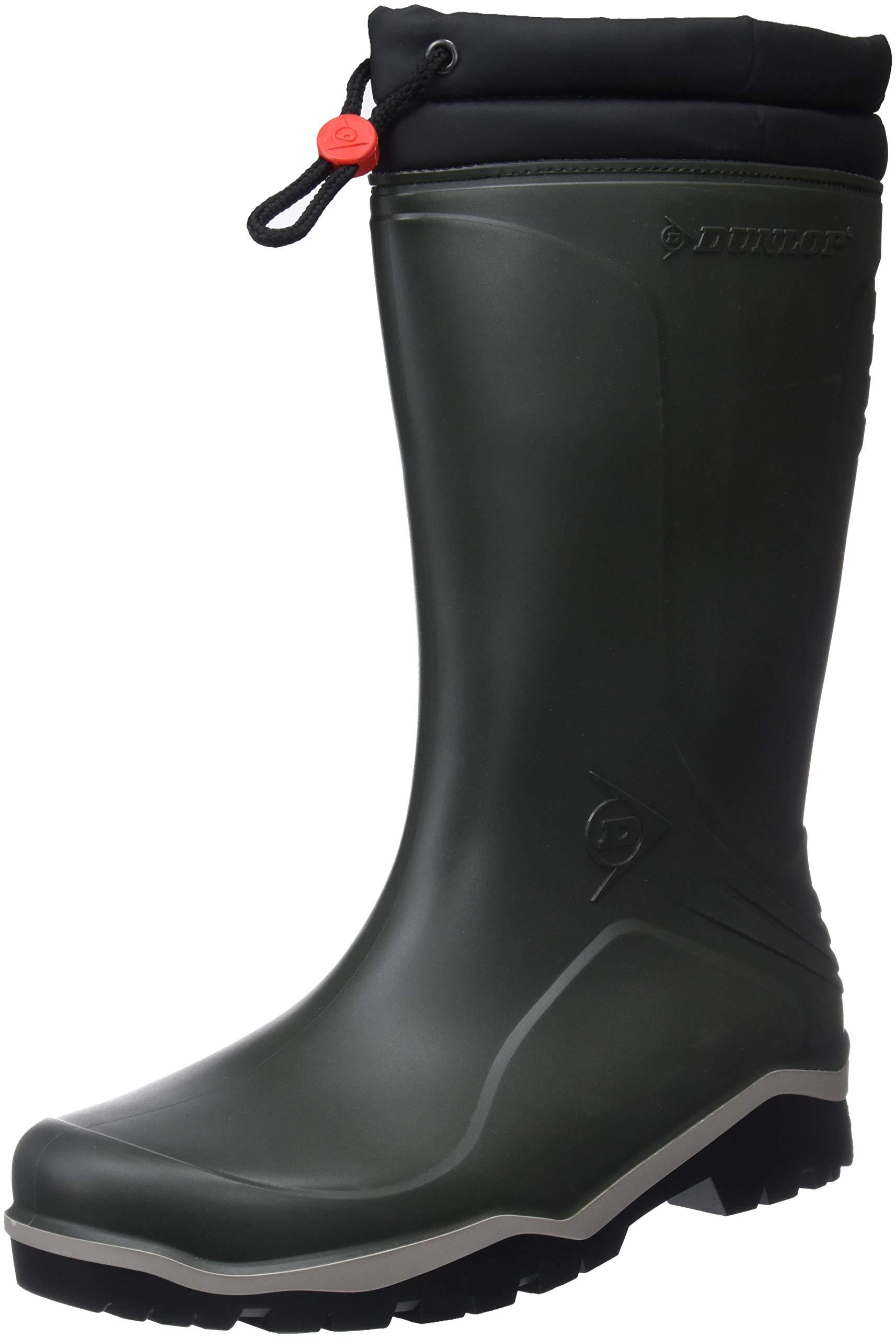 Dunlop Blizzard Unisex Mens/Womens Winter Wellington Boot/Rain Boots (10 US) (Green) by Dunlop