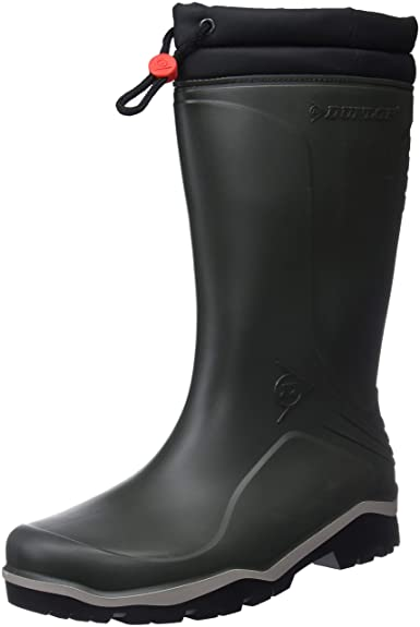 wholesale dealer 75b29 b4f5e Dunlop Unisex-Erwachsene Blizzard Gummistiefel, Grün, 45 EU
