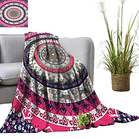 Amazon.com: Comfortable blanketTribal Nepal Bohemian Hippie ...