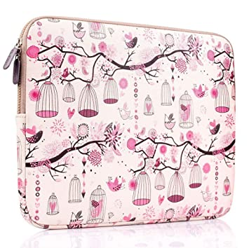 PLEMO Funda Tela de Neopreno para Ordenador Portátil MacBook/ MacBook Pro/ MacBook Air de 15- 15,6 Pulgadas, Rosa: Amazon.es: Informática