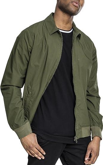 Mens Cotton Worker Jacket, Green (Dark Olive 00551), XXXX-Large Urban Classic