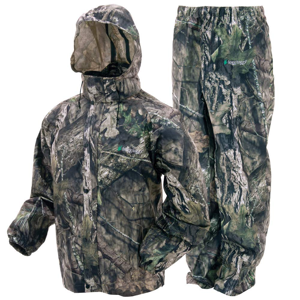 Frogg Toggs All Sport Rain Suit, Mossy Oak Break-up Country, Size XX-Large by Frogg Toggs