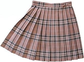 KR374 ピンクタータン W60・63・66・69・72 丈42・48・54cm KURI-ORI[クリオリ]スリーシーズンスカートschool skirt pink check