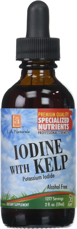 L A NATURALS Iodine with Kelp, 0.02 Pound