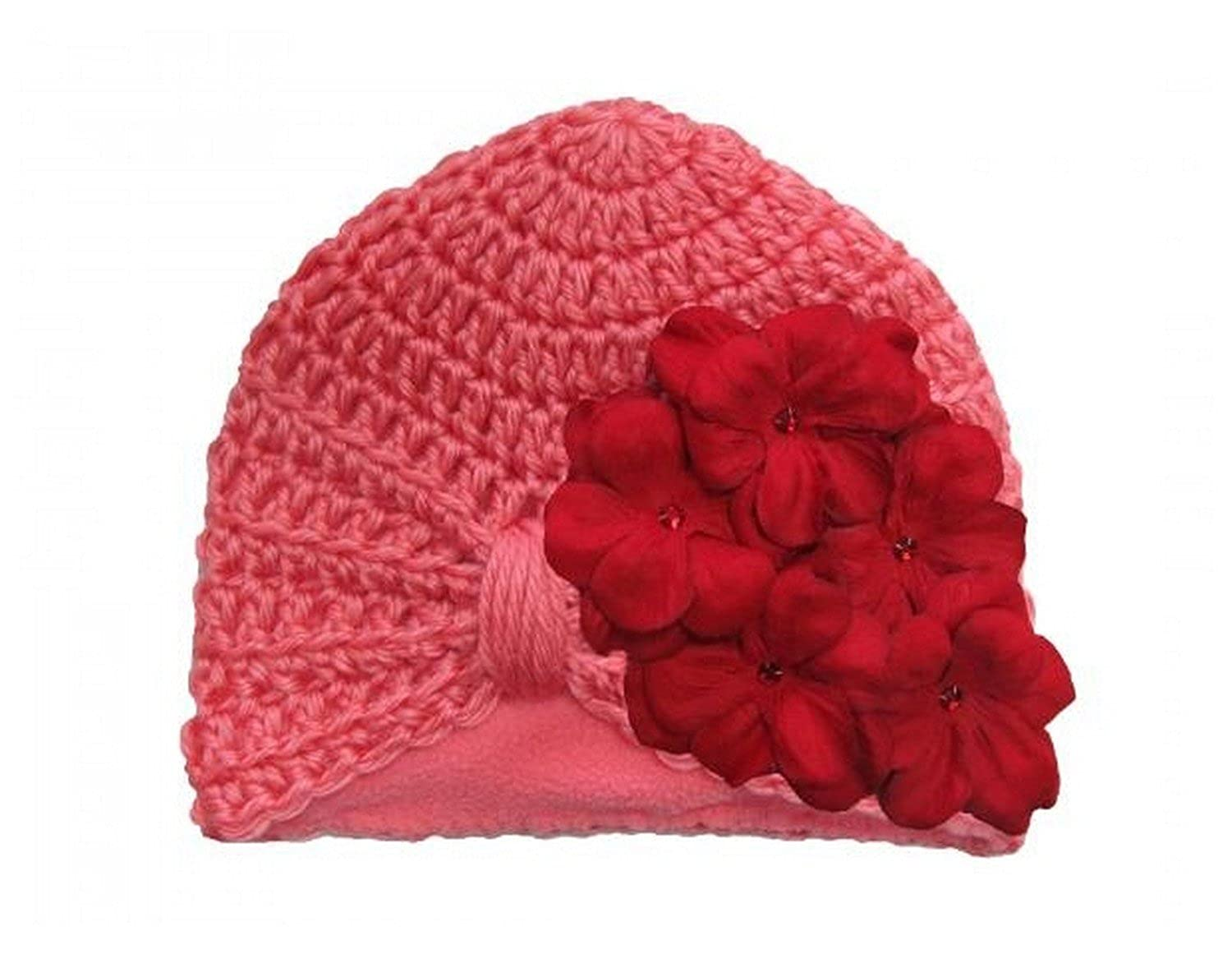Tiny Turbans with Red Small Geraniums