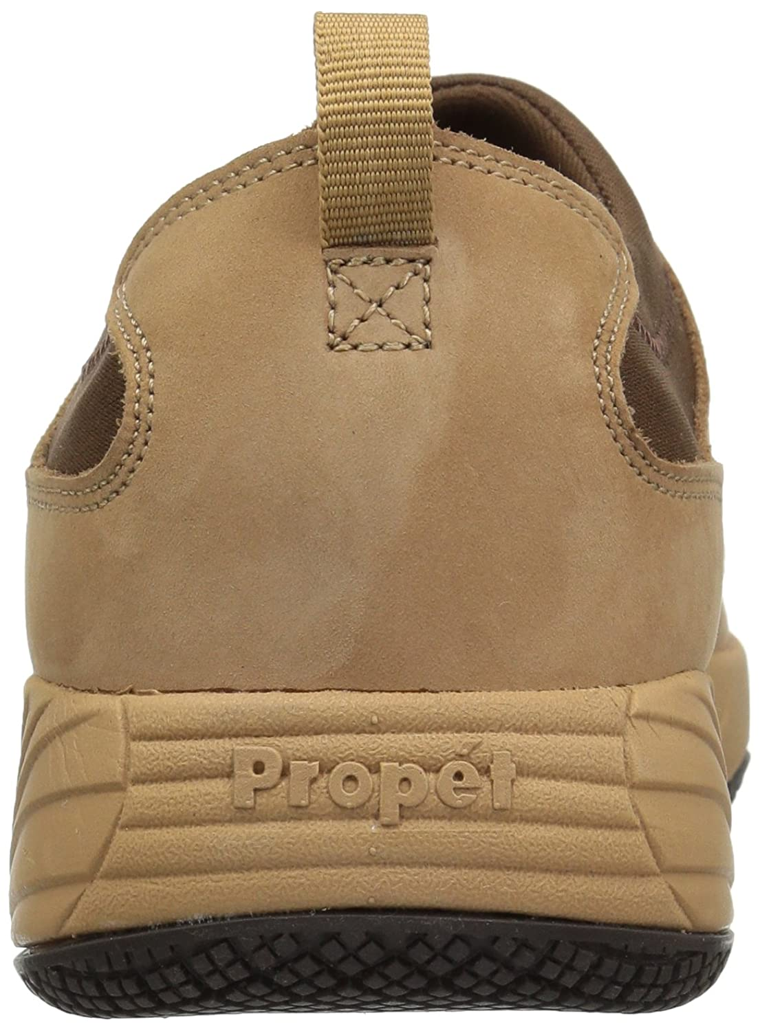 Propet Women's Wash N Wear Slip on Ll Walking Shoe B06XSBD7C1 6.5 W US|Sr Mushroom Nubuck