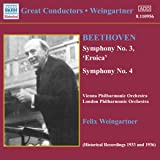 Great Conductors: Weingartner Symphonies 3 & 4