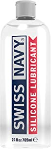 Swiss Navy Premium Silicone Based Sex Lubricant, 24 Ounce, Personal Lube for Men, Women & Couples. MD Science Lab