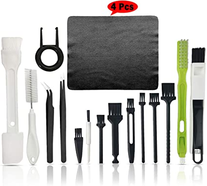 kit de limpieza de PC teclado y equipo electr/ónico Kit de limpieza para teclado cepillo antiest/ático de pl/ástico para computadora port/átil