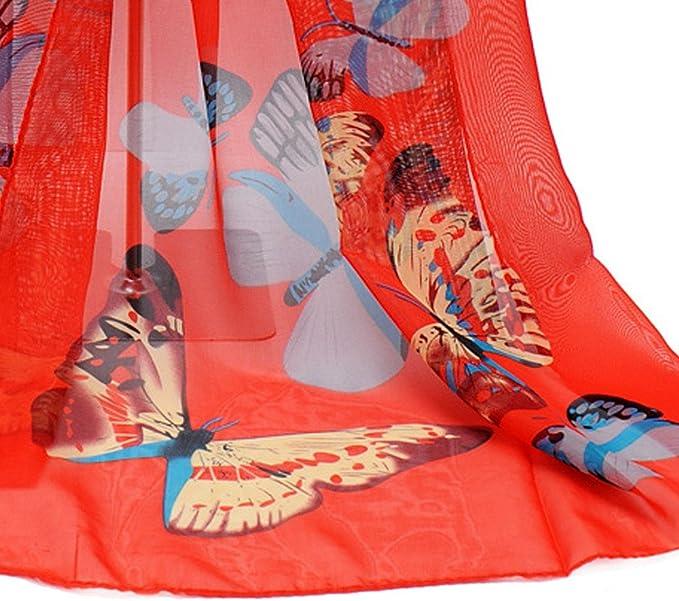 Amazon.com: iNoDoZ - Bufanda para mujer con estampado de ...