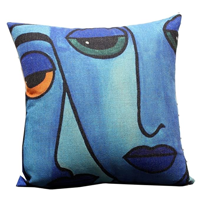 Ibiza Throw Pillow Cushion Cover, Plane to a Tropical Island ...