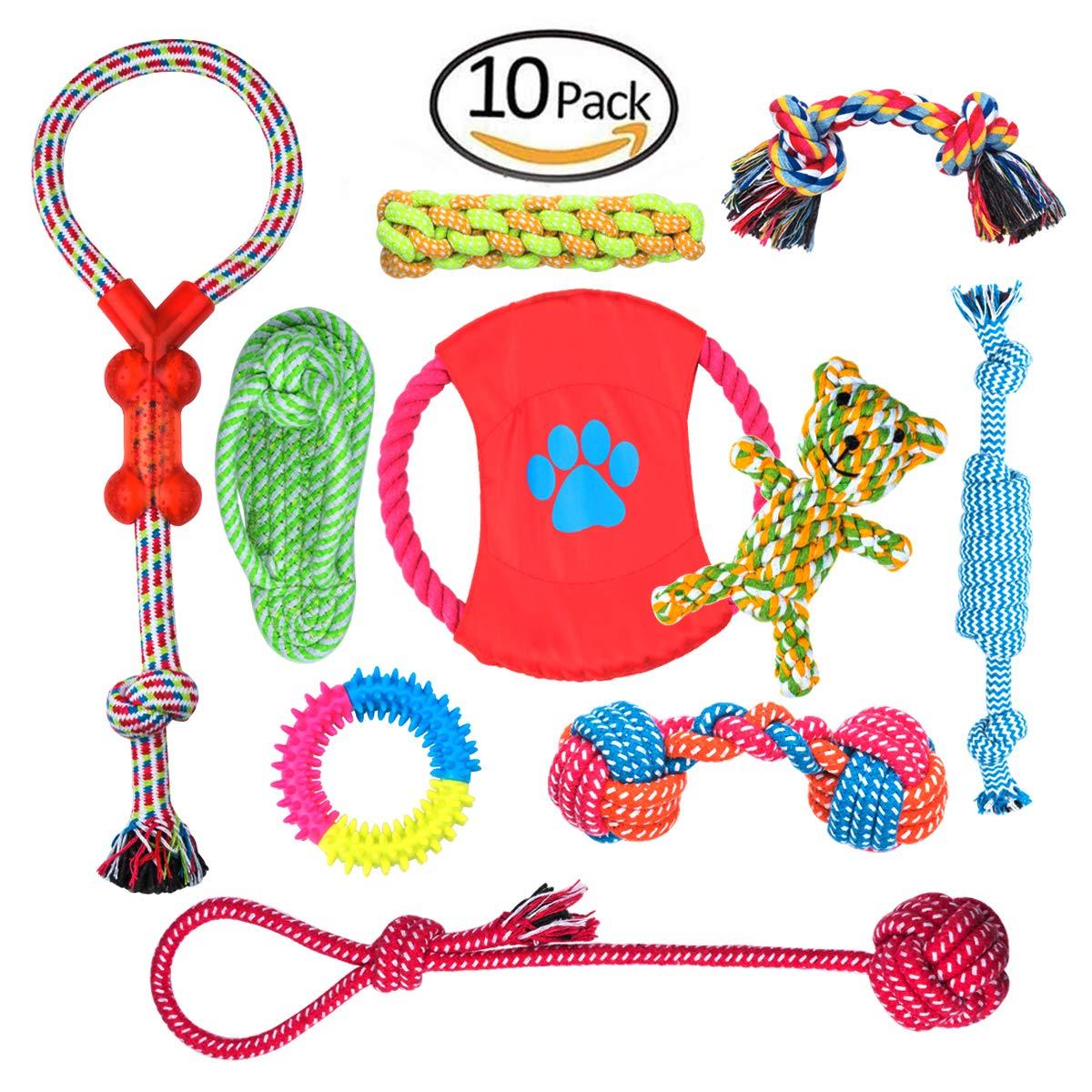 Set de juguetes para perro