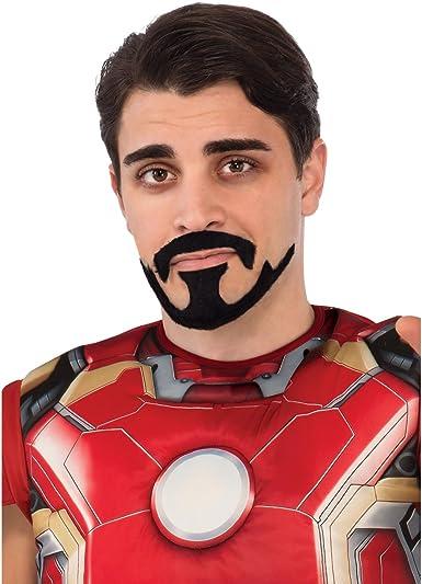 Tony Stark Moustache Marvel Super-héros Iron Man Avengers adulte Costume Accessoire