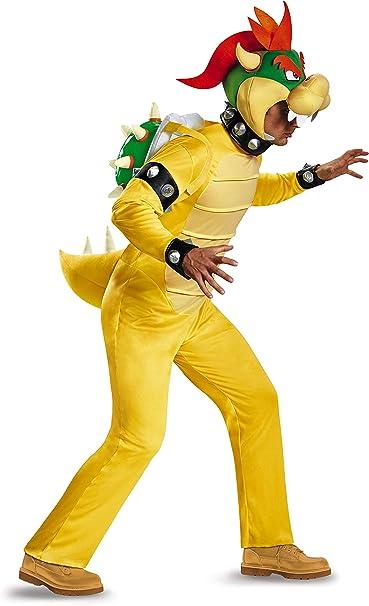 Nintendo Super Mario Bros- Deluxe Yoshi Disfraz, Color, Extra ...