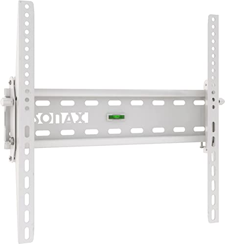 Sonax Tilting Flat Panel Wall Mount Stand for 32-Inch to 55-Inch TV, White
