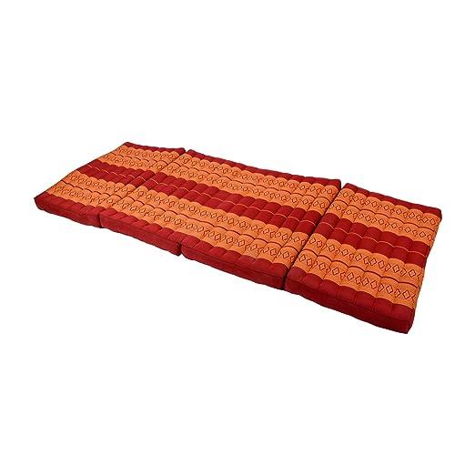 Beautissu Thai Triangular de colchón Yoga de ceiba cojín de ...