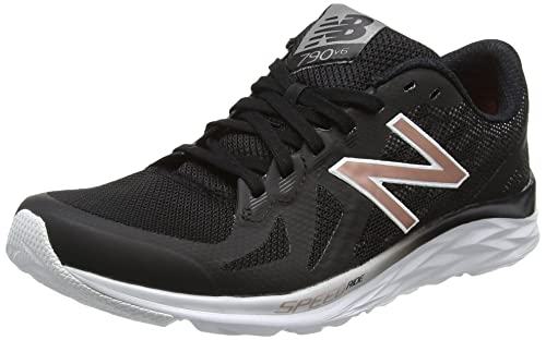 New Balance 790v6, Scarpe Sportive Indoor Donna, Multicolore (Black/White), 35 EU