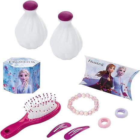 Simba Toys-Frozen 2-Tocador con taburete-10 accesorios-pr/áctico y decorativo Smoby 320234