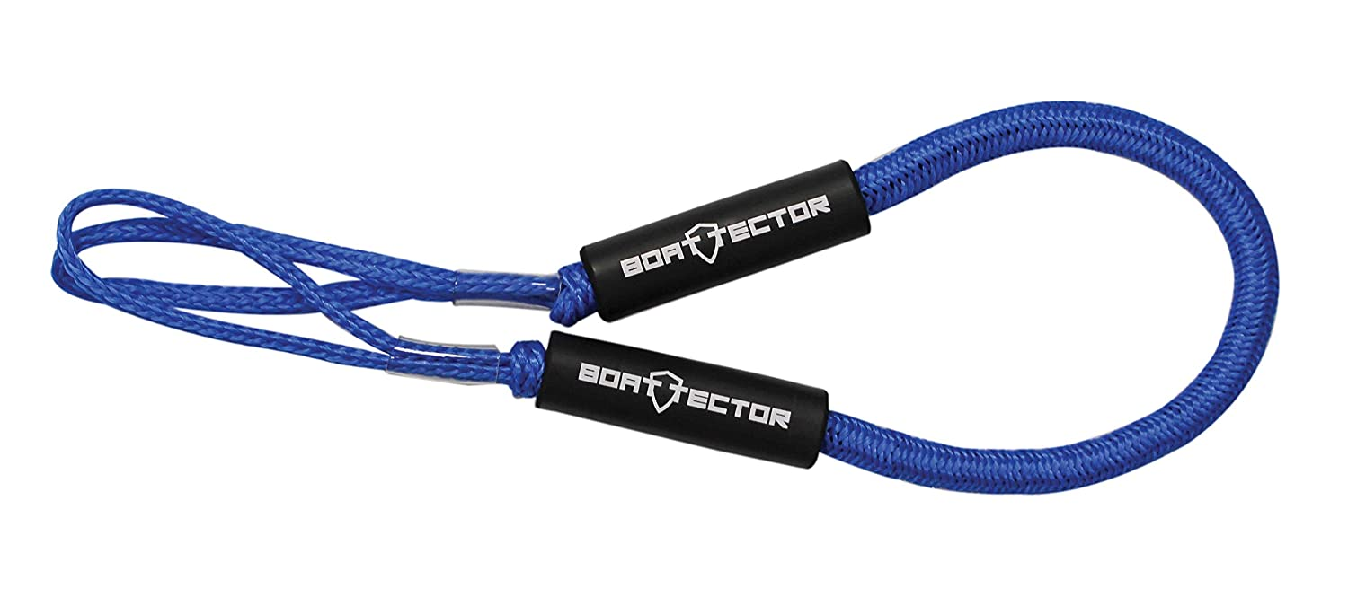 Black 6 Value 2-Pack Extreme Max 3006.2358 BoatTector Bungee Dock Line