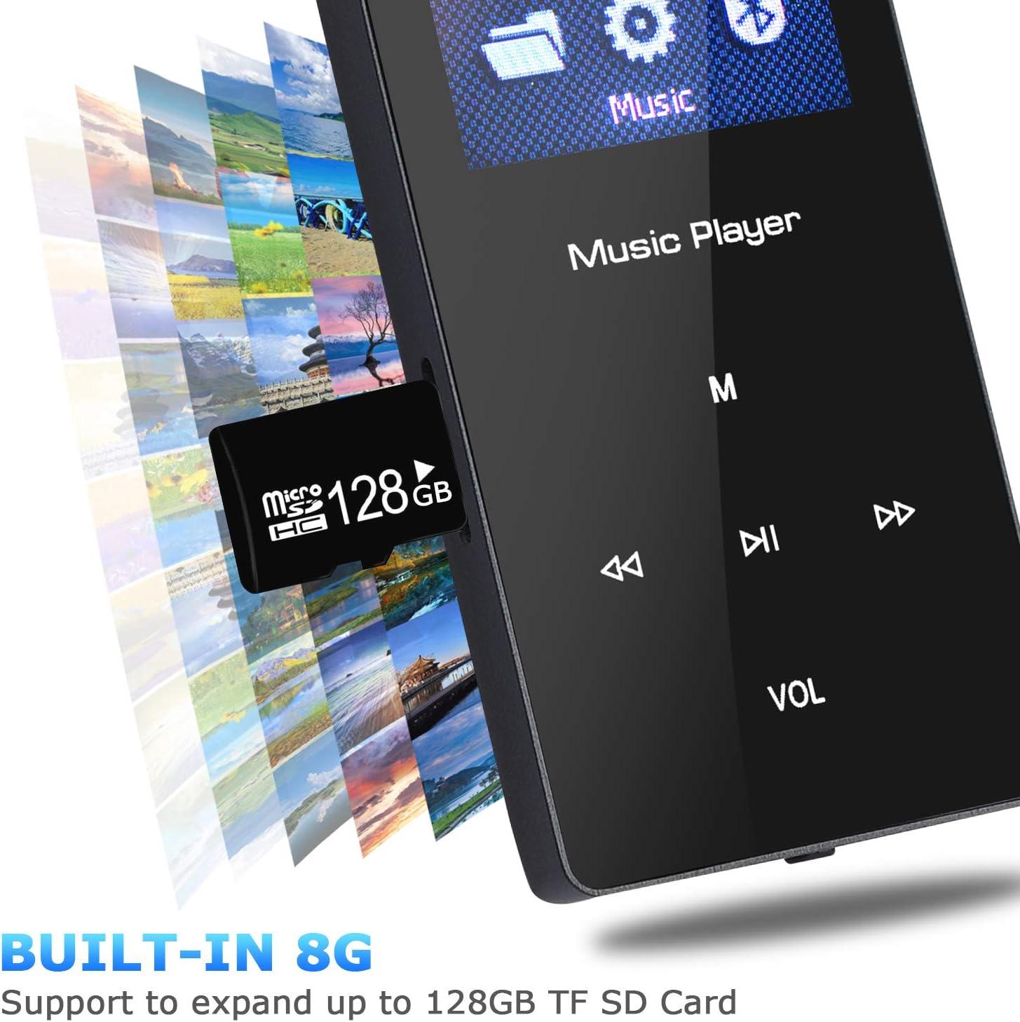 untersttzt FM-Radio-Aufnahme Songway Bluetooth-MP3-/MP4-Player ...