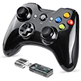 EasySMX Gaming Controller, 2.4G Wireless Gamepad, PS3 Controller, Dual Vibration, 8 Stunden Spielzeit für PS3/PC/Android Handys, Tablets, TV-Box