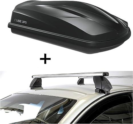 ab 16 VDP Dachbox CUBE370 370 Liter schwarz Dachtr/äger K1 MEDIUM kompatibel mit Toyota C-HR 5T/ürer