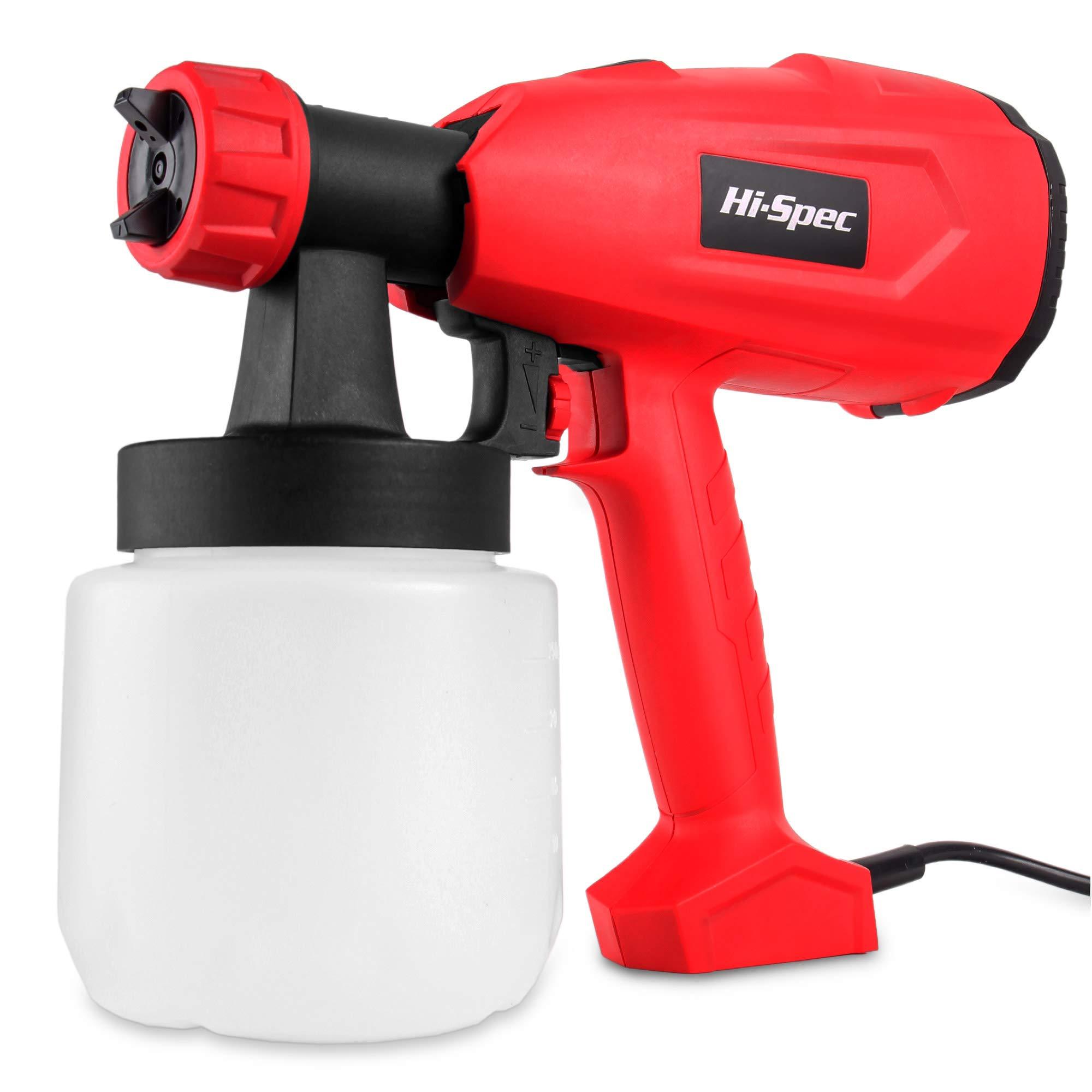 Hi Spec 2 2a Electric Paint Hvlp Spray Gun With 27fl Oz Paint