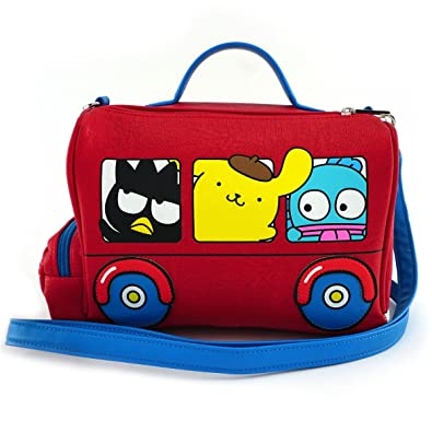 eaaab8e84f8 Image Unavailable. Image not available for. Color  Loungefly x Hello Sanrio  Bus Crossbody Bag