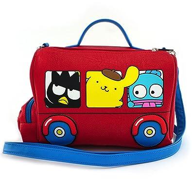 4acef6e88 Loungefly x Hello Sanrio Bus Crossbody Bag: Handbags: Amazon.com