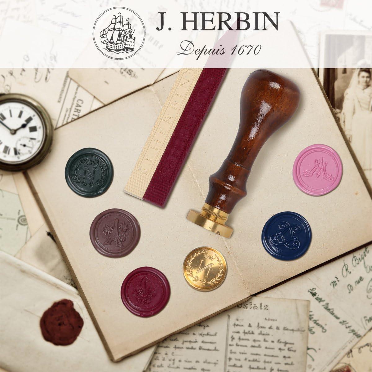 Herbin 46001T Strumenti per Ceralacca 18 x 7 x 1.6 cm