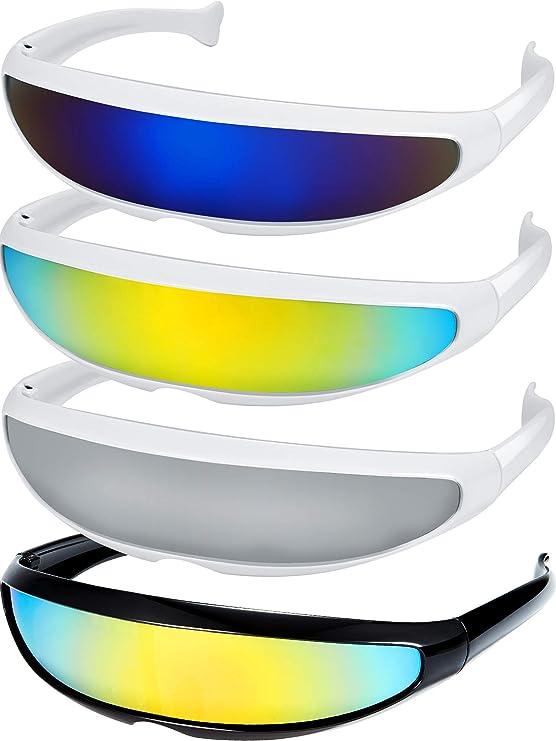 Retro Futuristic Narrow Sunglasses