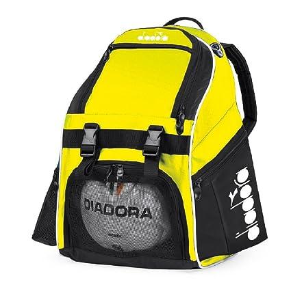 e6fccbd77 Amazon.com: Diadora Squadra II Soccer Backpack (Matchwinner Yellow):  Virtual Soccer