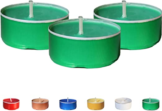 pack of 12 Decorative unscented Tea Lights 5 hours burning time FREE SHIPPING
