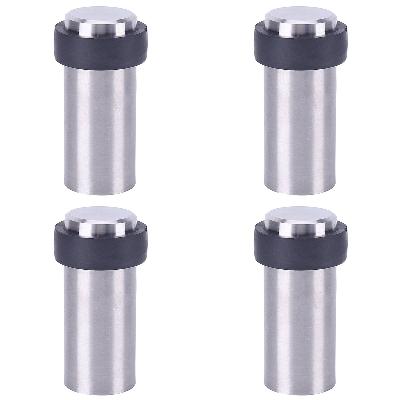 4 X Fermaporta a Pavimento in Acciaio Inossidabile 45 mm x 35 mm OuLian