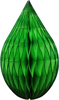 product image for 3-Pack 5 Inch Mini Rain Drop Honeycomb Ornament Decoration (Lime)