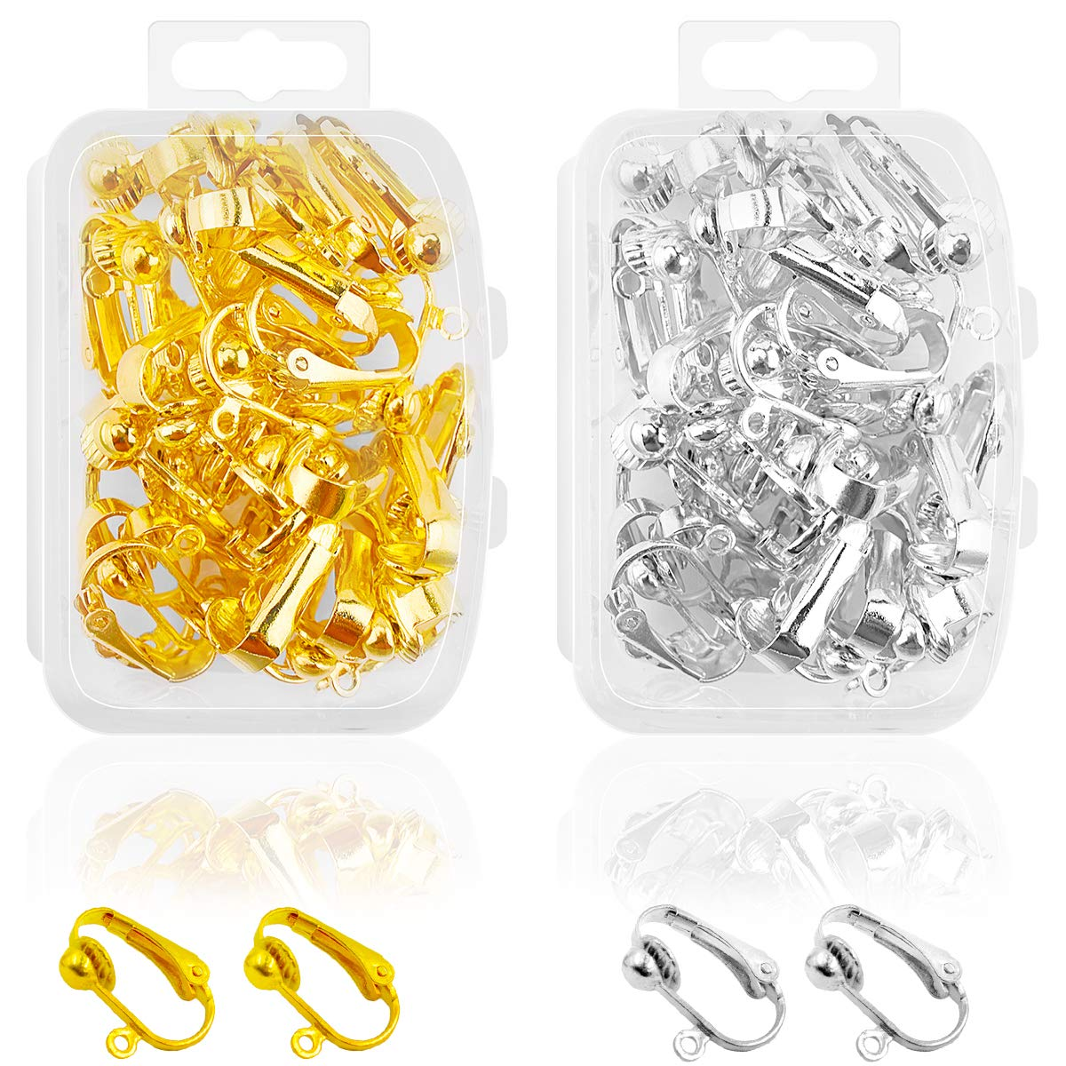 Jewelry Making Supplies Jewelry Findings Kit Supplies Jump Rings Lobster Clasp for Girl and Adults DIY Jewrlry Making