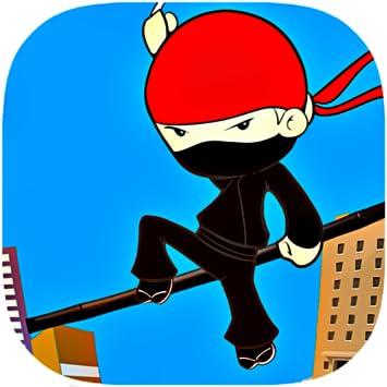 Ninja Crazy Escape - Free stickman line jump gameplay