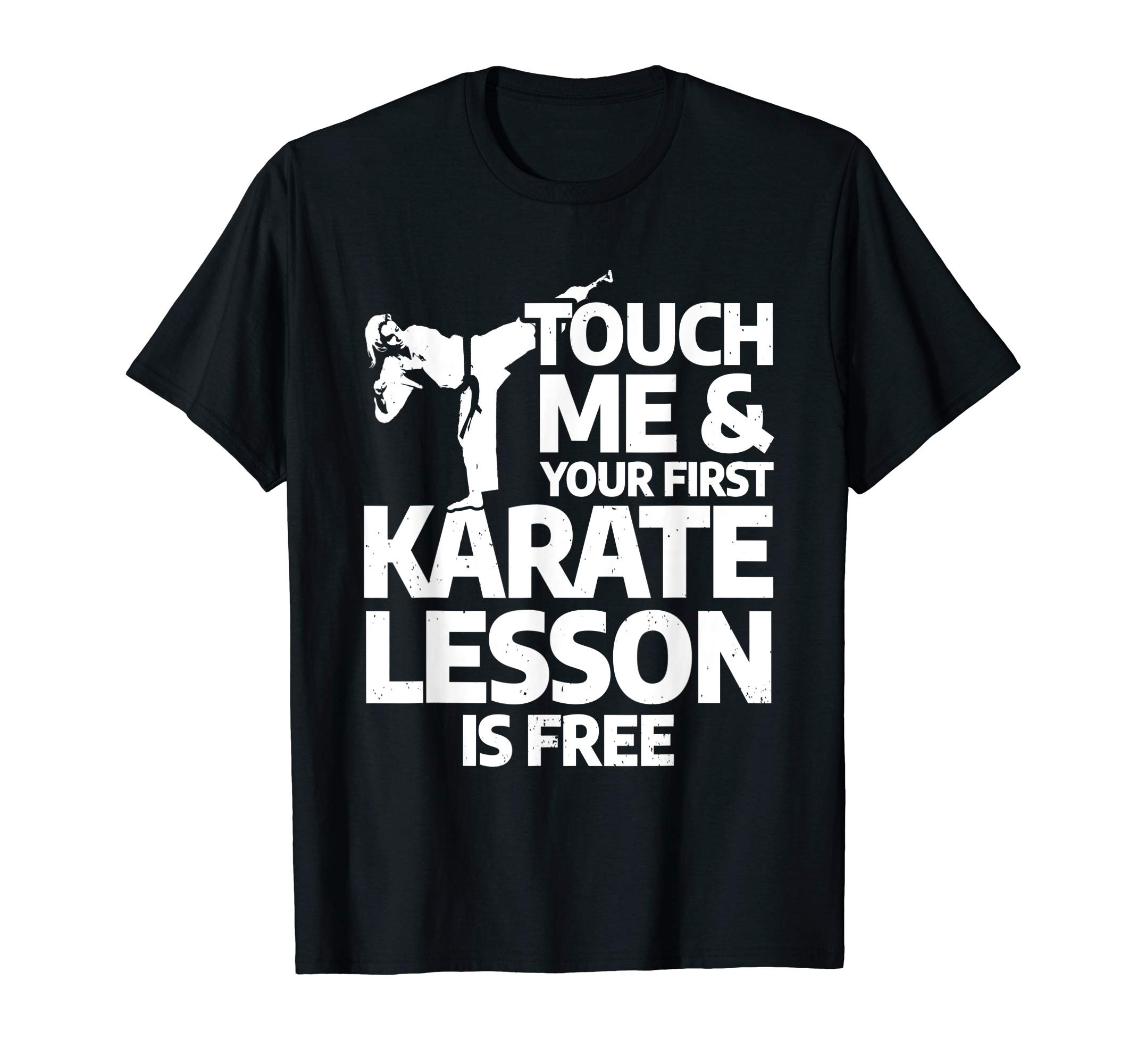 Martial Arts Karate Taekwondo for Girls - Karate Lesson T-Shirt by Karate Martial Arts Shirts