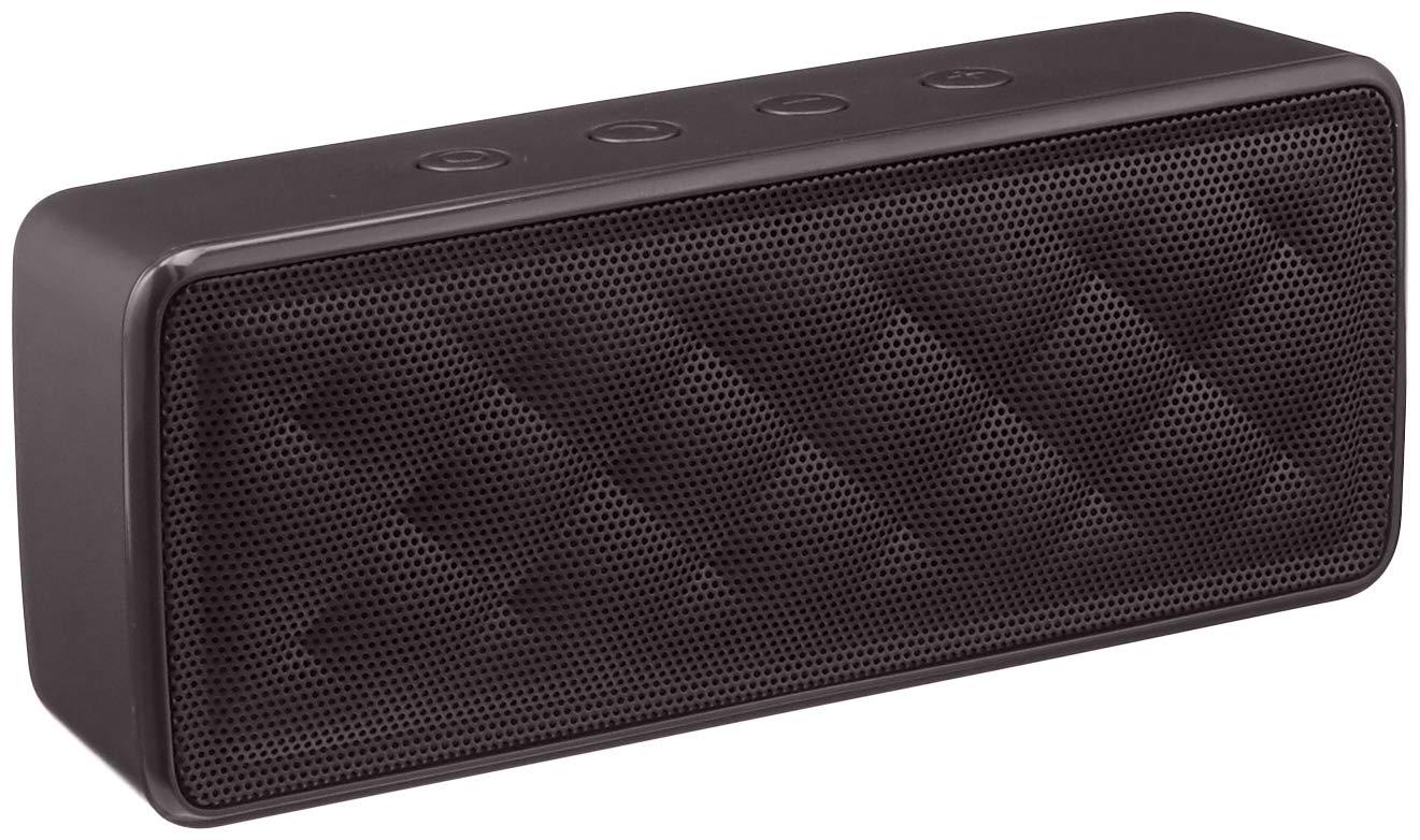 Amazon Basics Portable Wireless, 2.1 Bluetooth Speaker, Black