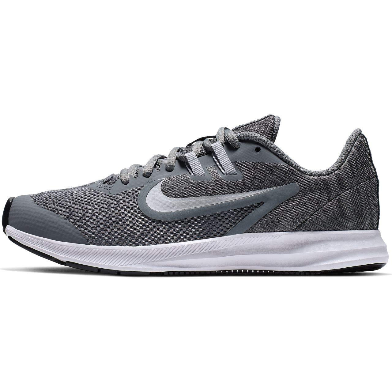 Mehrfarbig (Cool grau Metallic Silber Wolf grau 000) Nike Unisex-Kinder Downshifter 9 (Gs) Leichtathletikschuhe, Schwarz EU