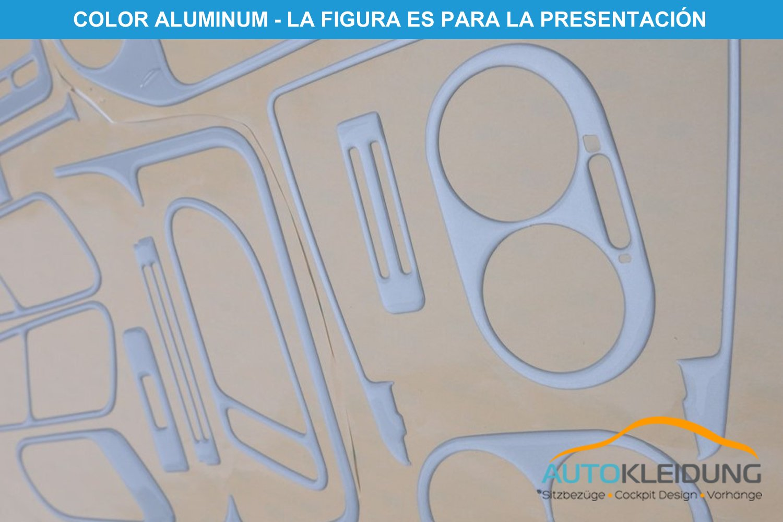 Versi/ón 3D exclusiva MERIC Decoraci/ón de Salpicadero CD-WU00645 Color: Burl 23 Pieza espec/íficamente para el veh/ículo