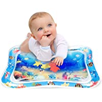 Keten Inflatable Tummy Time Water Play Mat, Leakproof Water Filled Baby Playmat for Children and Infant, Fun Activity Play Center Your Baby's Stimulation Growth