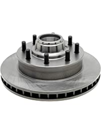 ACDelco 18A507A Advantage Non-Coated Front Disc Brake Rotor and Hub Assembly