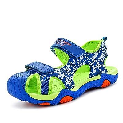 O&N Kids Boys Junior Outdoor Shoes Adventure Seeker Two-Strap Sandals (Little Kid/Big Kid)