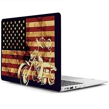AQYLQ Funda MacBook Pro 13 Retina para Modelo: A1502 y A1425, Ultra Delgado Carcasa Rígida Protector de Plástico Cubierta, Dura de Goma con Acabado ...