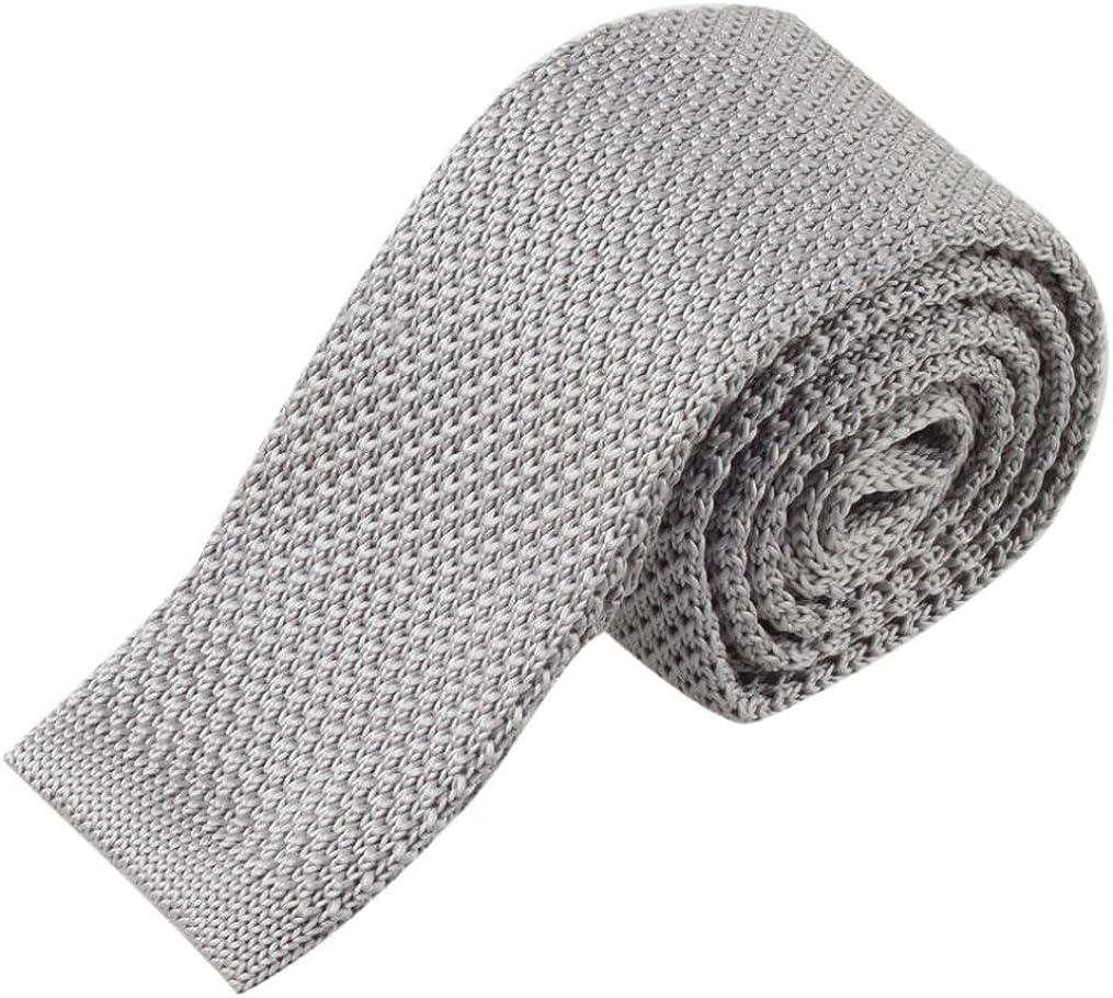 Ansenesna Moda Hombres Tejer Corbata Corbata Cuello De Punto ...